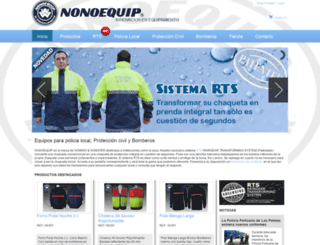 nonoequip.com screenshot
