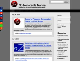 nonon-centsnanna.com screenshot