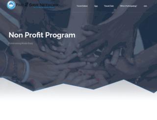 nonprofit.paid2save.com screenshot