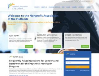 nonprofitam.site-ym.com screenshot