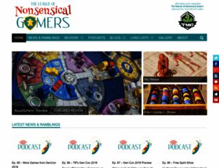 nonsensicalgamers.com screenshot