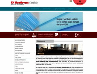nonwovensindia.com screenshot