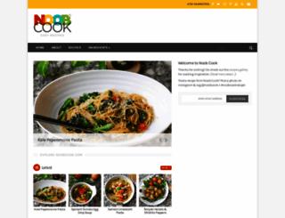noobcook.com screenshot