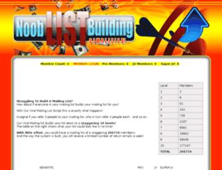 nooblistbuildingsimplified.com screenshot
