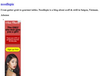 noodlepie.typepad.com screenshot