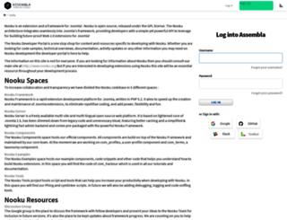 nooku.assembla.com screenshot