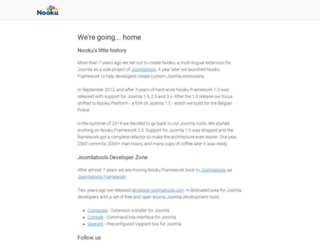 nooku.org screenshot