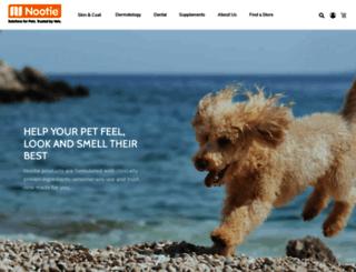 nootie.com screenshot