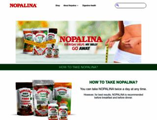 nopalina.com screenshot