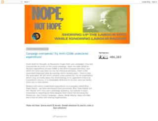 nopenothope.blogspot.co.uk screenshot