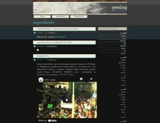 noproblemo.ownlog.com screenshot
