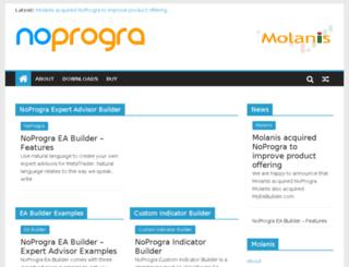 noprogra.com screenshot