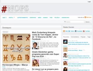 nops.com.br screenshot