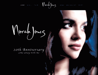 norahjones.com screenshot