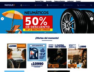 norauto.com.ar screenshot