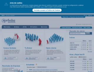norbolsa.es screenshot