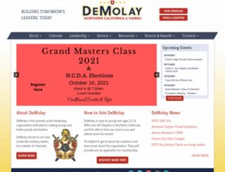 norcaldemolay.com screenshot