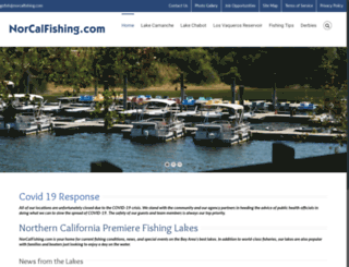 norcalfishing.com screenshot