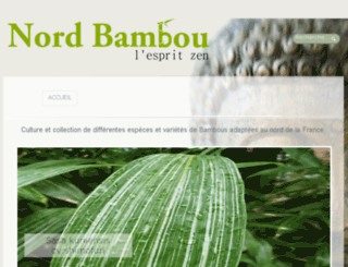 nord-bambou.fr screenshot
