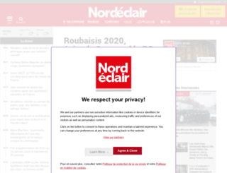 nordeclair.fr screenshot
