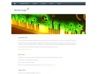 nordenlogic.com screenshot