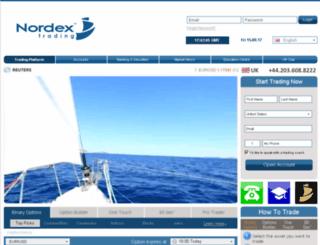 nordextrading.com screenshot
