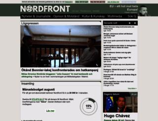 nordfront.se screenshot
