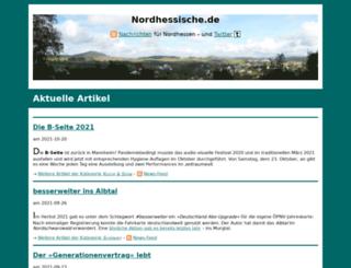 nordhessische.de screenshot