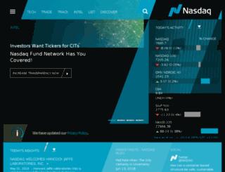 nordic.nasdaqomxtrader.com screenshot
