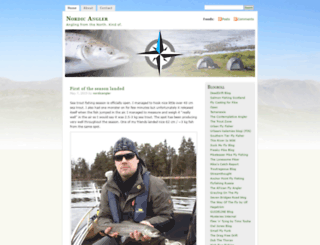 nordicangler.wordpress.com screenshot