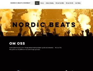 nordicbeats.com screenshot