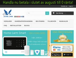 nordiclarm.se screenshot