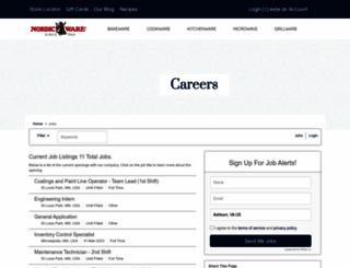 nordicware.applicantpro.com screenshot