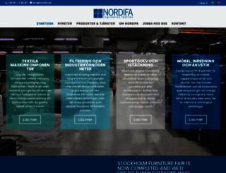 nordifa.se screenshot