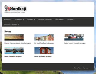 nordkap.org screenshot