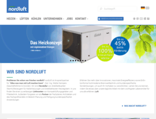 nordluft.com screenshot