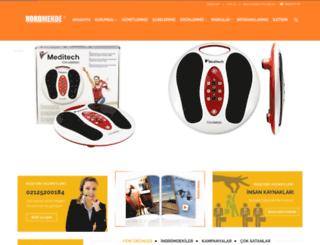 nordmendetoptan.com screenshot