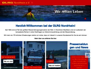 nordrhein.dlrg.de screenshot