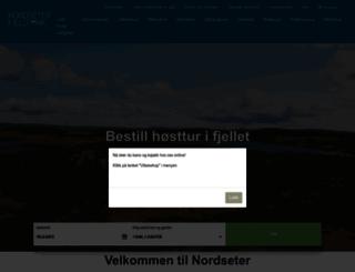 nordseter.no screenshot