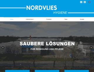 nordvlies.de screenshot