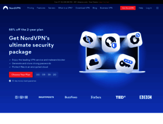 nordvpn.com screenshot