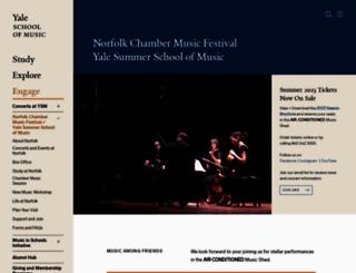 norfolk.yale.edu screenshot