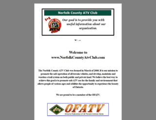 norfolkcountyatvclub.com screenshot