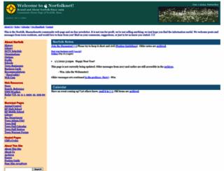 norfolknet.com screenshot