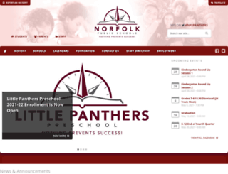 norfolkpublicschools.org screenshot