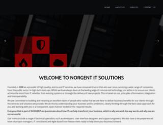 norgent.co.uk screenshot