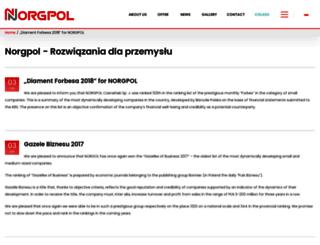 norgpol.pl screenshot