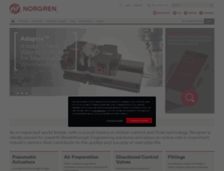 norgren.com screenshot