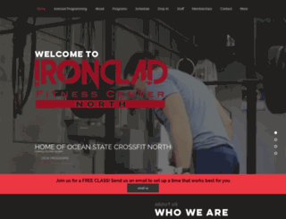 noriskcrossfit.com screenshot