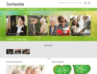 norlandia.no screenshot